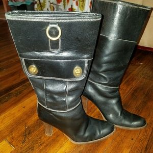 Coach Leather Rory Boots size 8B